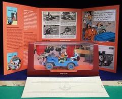 Voiture Tintin Atlas 2ème édition : Objectif Lune. ( Livrée Avec Son Livret Et Son Cert. D'authenticité ) - Tintin