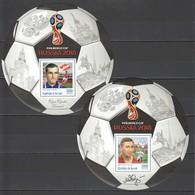 F254 PRIVATE ISSUE 2016 BURUNDI SPORT FOOTBALL YAKUSHIN SALNIKOV 2BL MNH - Coupe Du Monde