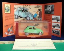 Voiture Tintin Atlas 2ème édition : L'affaire Tournesol. ( Livrée Avec Son Livret Et Son Cert. D'authenticité ) - Tintin