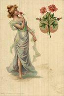 Illustrateur Art Nouveau SERIE Allegories Des Fleurs    Art Nouveau  Illustrateur - Ilustradores & Fotógrafos