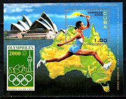 CUBA. BF 163 De 2000 Neuf Sans Charnière (MNH). Olymphilex 2000. Opéra De Sydney. - Expositions Philatéliques