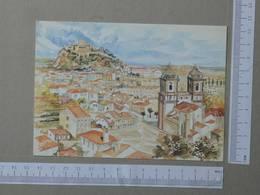 PORTUGAL - OLEO DE ARTUR FRANCO -  LEIRIA -   2 SCANS  - (Nº25243) - Leiria