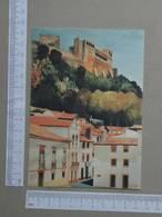 PORTUGAL - OLEO DE ARTUR FRANCO -  LEIRIA -   2 SCANS  - (Nº25245) - Leiria