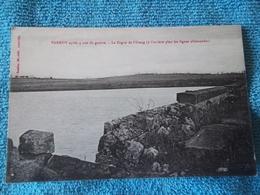"""Cp De PARROY(54) """"aprés 4 Ans De Guerre à  L'arrière Plan Les Lignes Allemandes"""" - 1914-18"""