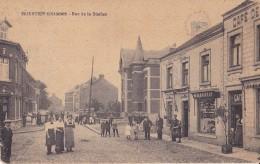 Moustier S/Sambre Rue De La Station Edit: L.Léonard-Rochet Moustier S/Sambre Belle Animation - Jemeppe-sur-Sambre