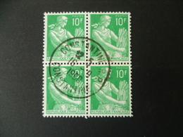 MOISSONEUSE 10 CTS  OBLITERE  CONSTANTINE 1960 - Algérie (1924-1962)