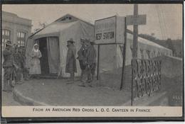 Croix Rouge - American Red Cross - Croix-Rouge
