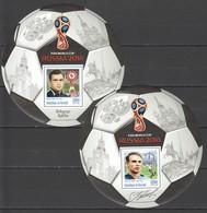 F263 PRIVATE ISSUE 2016 BURUNDI SPORT FOOTBALL MESKHI BESKOV 2BL MNH - Coupe Du Monde