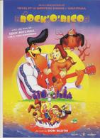 CPM Rock'orico De Don Bluth (voix E Mitchell, Lio Et Tom Novembre) - Plakate Auf Karten