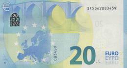 "EURO 20  ITALIA SF S018  ""36""  DRAGHI  UNC - EURO"