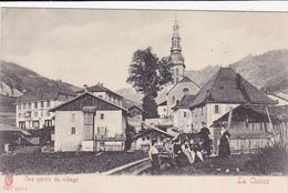 Cpa -74-la Clusaz-personnages-partie Du Village-edi ... N°27771 - La Clusaz