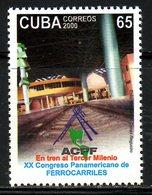 CUBA. N°3894 De 2000 Neuf Sans Charnière (MNH). Congrès Des Chemins De Fer. - Treni