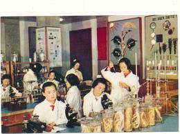 COREE DU NORD , PYONGYANG - Membres Du Cercle De Recherche Botanique - Korea, North
