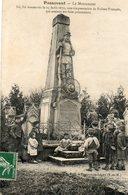 CPA - PASSAVANT (51) - Aspect Du Monument Aux Morts (Guerre 1870) En 1908 - Autres Communes