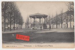 Tienen, Thienen, Tirlemont, Kiosk Op Grote Markt, Uniek Mooi Verleden, TOPKAART! - Tienen