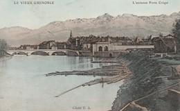 Isére : GRENOBLE : Le Vieux Grenoble - L'ancienne Porte Créqui ( Colorisée ) - Grenoble