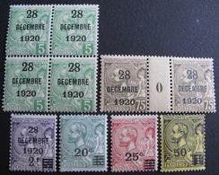 FD/2483 - 1921 - MONACO - BAPTÊME DE LA PRINCESSE ANTOINETTE - N°48 à 53 NEUFS** - Cote : 137,00 € - Monaco