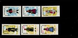DDR 1074 - 1079 Volkstrachten ** MNH Neuf - Ungebraucht
