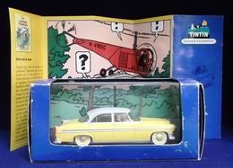 Voiture Tintin Atlas 1ère édition : L'affaire Tournesol ( Livrée Avec Son Livret Et Son Cert. D'authenticité ) - Tintin