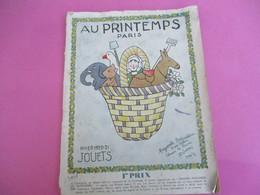 Catalogue De Grand Magasin / JOUETS / Au Printemps Paris / Pigelet/ Noel 1920 / 1920-21                       CAT241 - Other