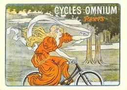 PUB Publicité NUGERON  B 7 Nos Elégantes Bicyclettes Cycles OMNIUM Paris (vélo Cycle Bicyclette Bicycle)*PRIX FIXE - Advertising