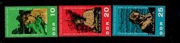 DDR 1084 - 1086 Albert Schweizer ** MNH Neuf - Unused Stamps