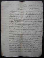 1767 Requête Devant Bernard Crozes, Collecteur Du Castelviel Contre Pierre Marty Et Jacques Fabre - Manuscrits