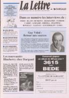 Magazine LETTRE DE DARGAUD N°18 Avec ROSINSKI MITACQ MEZIERES MOEBIUS ZEP Â?Â?.. - Lettre De Dargaud, La
