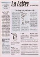 Magazine LETTRE DE DARGAUD N°19 Avec BILAL BOUCQ GIRAUD JANRY BERTHET STANISLAS Â?Â?. - Lettre De Dargaud, La