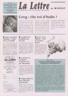 Magazine LETTRE DE DARGAUD N°24 Avec FROIDEVAL MITTON CONRAD SCHTROUMPFS LIDWINE Â?Â? - Lettre De Dargaud, La