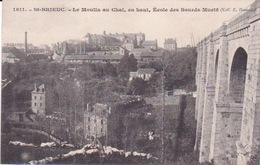 22-ST-BRIEUC- LE MOULIN AU CHAT EN HAUT ECOLE DES SOURDS-MUETS - Saint-Brieuc