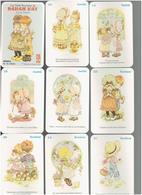 JEU 32 CARTES A JOUER LES PETITS PROVERBES DE SARAH KAY JEU DE FAMILLES EN TRES BON ETAT - Playing Cards