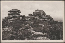Rough Tor Near Camelford, Cornwall, C.1905-10 - John Treweeks Postcard - England