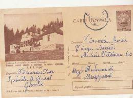 TOURISM, CIBIN MOUNTAIN FANTANELE CHALET, PC STATIONERY, ENTIER POSTAL, 1964, ROMANIA - Holidays & Tourism