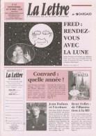 Magazine LETTRE DE DARGAUD N°25 Avec CONVARD FRED DUFAUX DECRECY TARDI CHALAND JUILLARD PTIKLUC Â?.. - Lettre De Dargaud, La