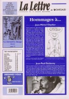 Magazine LETTRE DE DARGAUD N°48 Avec DETHOREY PICHARD RAMAIOLI DUPUY BERBERIAN GEERTS Â?.... - Lettre De Dargaud, La