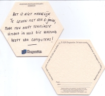 #D223-056 Viltje Hoegaarden - Beer Mats