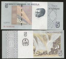 Angola 5 Kwanzas 2012  Pick NEW UNC - Angola