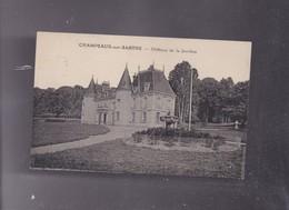 72 SARTHE,  Le Château De La JARRIERE à CHAMPEAUX SUR SARTHE - Autres Communes
