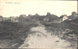 CPA - Belgique - Flandre Occidentale - La Panne - Les Dunes - De Panne