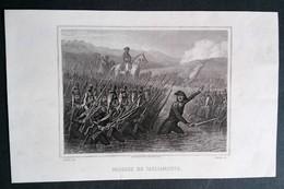 Napoléon, Passage Du Tacliamento, Gravure Ancienne Par Raffet - Prints & Engravings