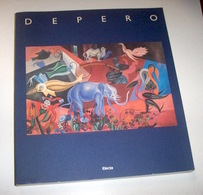 Arte - Depero Catalogo Mostra Rovereto Milano Dusseldorf- 1^ Ed. 1989 Electa - Prints & Engravings