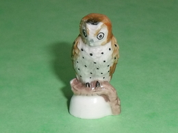 Fèves / Animaux : Chouette , Hibou    T63 - Animals