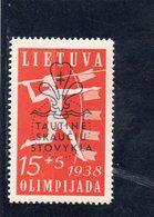LITUANIE 1938 ** - Lituanie