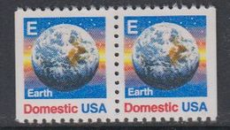 USA 1988 Earth / Domestic 2v From Booklet ** Mnh (40746) - Ongebruikt
