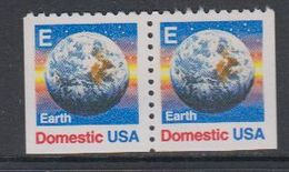 USA 1988 Earth / Domestic 2v From Booklet ** Mnh (40746A) - Ongebruikt