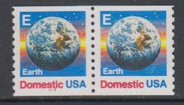 USA 1988 Earth / Domestic 2v From Booklet ** Mnh (40746C) - Ongebruikt