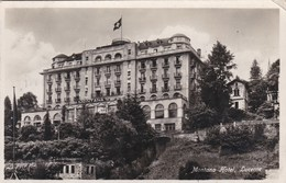LUZERN - LUCERNE - LU - SCHWEIZ - SUISSE  -  PEU COURANTE CPA  DE 1933 - BEL AFFRANCHISSEMENT POSTAL. - LU Lucerne