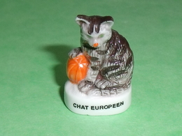 Fèves / Animaux : Chats , Chat Europeen    T113 - Animals