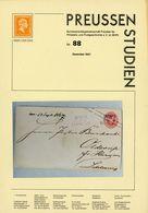 ArGe Preußen Rundbrief 88 Aus 2001 - Philatelie Und Postgeschichte